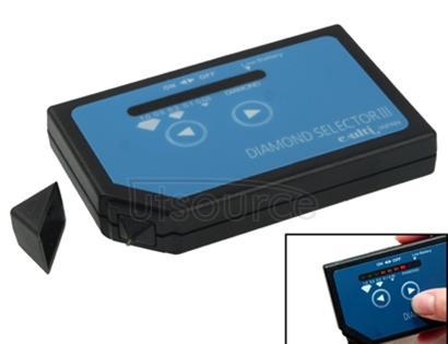 Audio Portable Diamond Selector III Tester, 2x AA Batteries