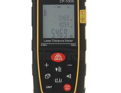 CP-100S Digital Handheld Laser Distance Meter, Max Measuring Distance: 100m