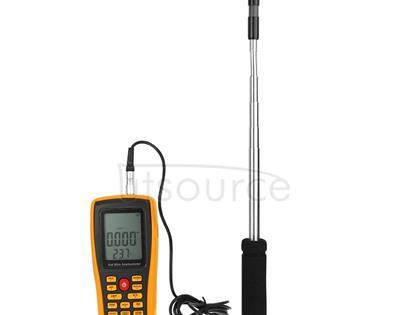 BENETECH GM8903 2.6 inch LCD Screen Digital Hot Wire Wind Speed Wind Temperature Anemometer