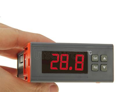 RC-210M Digital LCD Temperature Controller Thermocouple Thermostat Regulator with Sensor Termometer, Temperature Range: -40 to 110 Degrees Celsius
