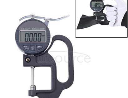 0-25mm Range Digital Display Micrometer Thickness Gauge