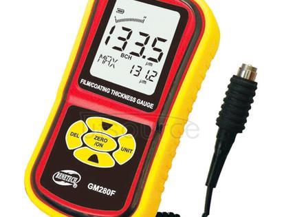BENETECH Film / Coating Thickness Gauge Smart Sensor Digital Thickness Meter Tester (GM280F)(Yellow)