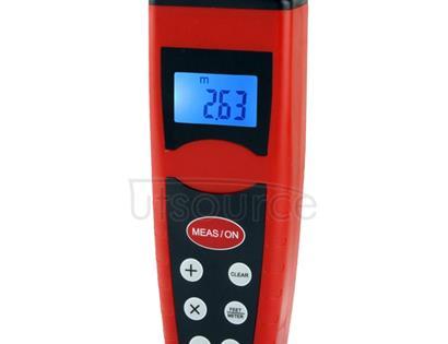 Ultrasonic Distance Measure Measurer with Laser Pointer, Range: 0.5-18m (CP-3000)