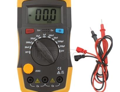 Capacitor Capacitance Meter Tester 6013 XC6013L(Yellow)