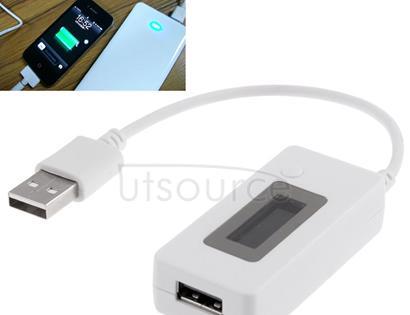 KCX-017 Mini Mobile Power Capacity Tester(White)