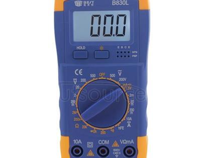 BEST BST- B830L 9V LCD Screen Display Digital Multimeter