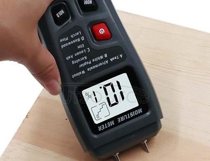 Rechargeable Wood Moisture Tester Moisture Measurement for Wood Flooring and Carton