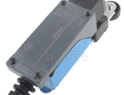 ME-8108 Rotary Adjustable Roller Lever Arm Mini Limit Switch(Blue)