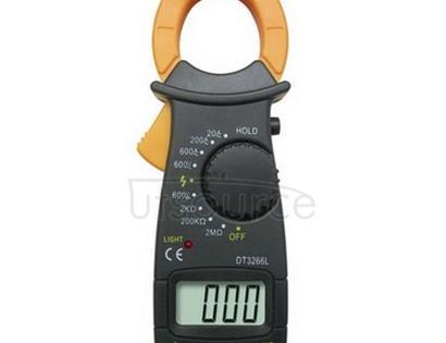 3 1/2 Digital Clamp Meter, Max Reading of 1999