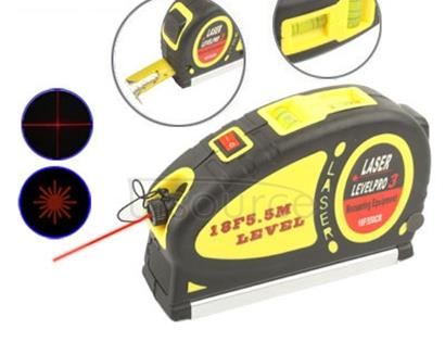 Laser Level with Tape Measure Pro (550cm), LV-05(Yellow)