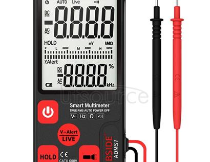 BSIDE ADMS7 Intelligent Fully Automatic No Shifting Ultra-thin Digital Multimeter with Large Display Screen