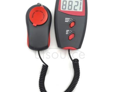 Digital Light Meter, Measuring Range: 1-100000 Lux(Red)