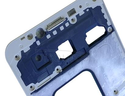 Front Housing LCD Frame Bezel Plate for Galaxy C5(Gold)