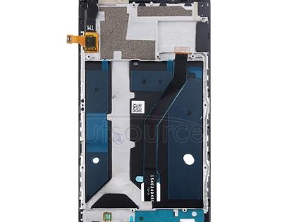 For ZTE Blade Z Max / Z982 LCD Screen and Digitizer Full Assembly with Frame(Black)