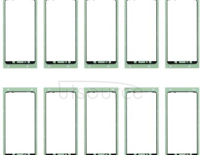 10 PCS Front Housing Adhesive for Galaxy A7 (2018) / A750