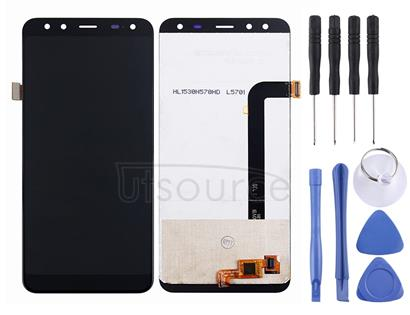 LCD Screen and Digitizer Full Assembly for LEAGOO S8(Black)