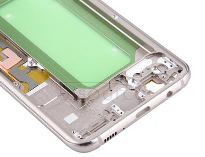 Middle Frame Bezel for Galaxy S8+ / G9550 / G955F / G955A(Gold)