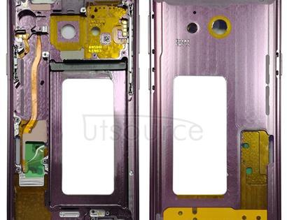 Middle Frame Bezel for Galaxy S9 G960F, G960F/DS, G960U, G960W, G9600 (Purple)
