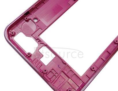 Middle Frame Bezel for Galaxy J4 Core / J410F / J410G (Pink)