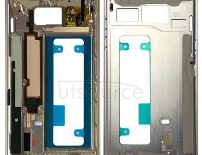 Middle Frame Bezel Plate for Galaxy Note FE, N935, N935F/DS, N935S, N935K, N935L(Blue)