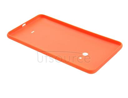 Original Housing Battery Back Cover with Side Button for Nokia Lumia 625 (Orange)