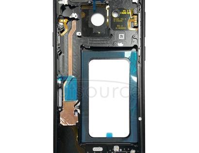 Middle Frame Bezel for Galaxy S9+ G965F, G965F/DS, G965U, G965W, G9650 (Black)
