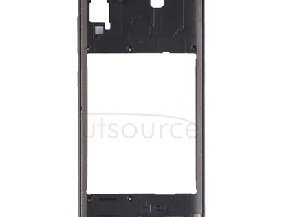 Middle Frame Bezel Plate for Galaxy A30 SM-A305F/DS(Black)