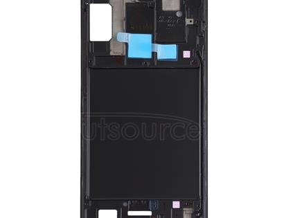 Front Housing LCD Frame Bezel Plate for Galaxy A9 (2018)(Black)