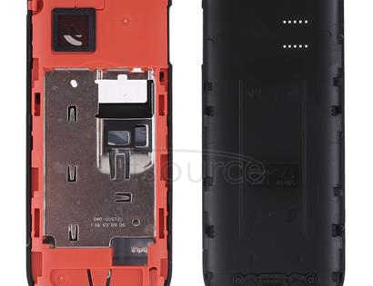 Full Housing Cover (Front Cover + Middle Frame Bezel + Battery Back Cover + Keyboard) for Nokia 1202