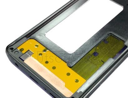 Middle Frame Bezel for Galaxy S9 G960F, G960F/DS, G960U, G960W, G9600 (Grey)