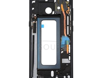 Front Housing LCD Frame Bezel Plate for Galaxy Note 8 / N950(Black)