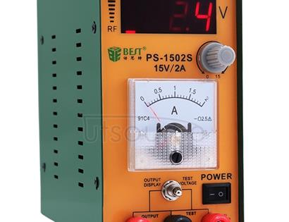 BEST-1502S 15V / 2A High Precision Adjustable Digital AC DC Power Supply (Voltage 220V)