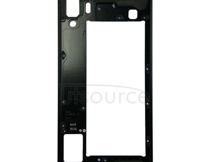 Middle Frame Bezel Plate for Galaxy A8 Star / A9 Star / G8850(Black)