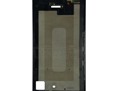 Front Housing LCD Frame Bezel Plate for Galaxy A7 (2018) / A750(Black)