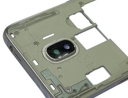 Middle Frame Bezel Plate for Galaxy J2 Pro (2018), J2 (2018), J250F/DS(Gold)