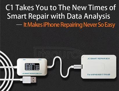 JC C1 Smart Repair Box Intelligent Repair Cable for iPhone 6 / 6 Plus / 6s / 6s Plus / 7 / 7 Plus / 8 / 8 Plus / X