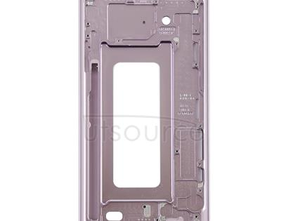 Front Housing LCD Frame Bezel for Galaxy Note9(Rose Gold)