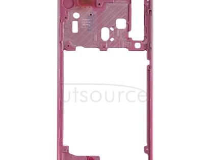Middle Frame Bezel Plate for Galaxy A9 (2018)(Rose Gold)