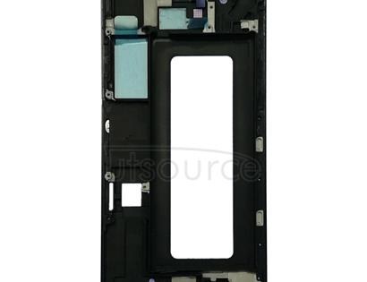 Front Housing LCD Frame Bezel Plate for Galaxy A8 Star / A9 Star / G8850(Black)