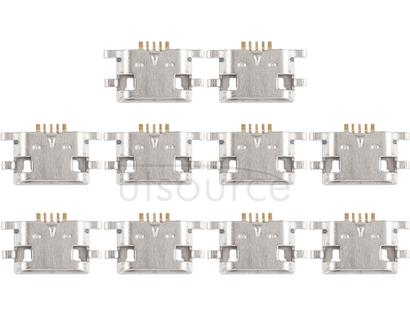 10 PCS Charging Port Connector for Meizu Meilan Max / M5 / Meilan E / Note 6