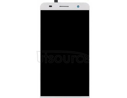 For ZTE Blade V7 / BV0701 LCD Screen and Digitizer Full Assembly(White)