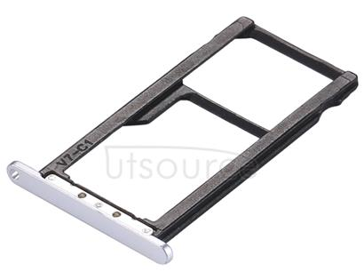 For ZTE Blade A2 / BV0720 SIM Card Tray & SIM / Micro SD Card Tray(Silver)