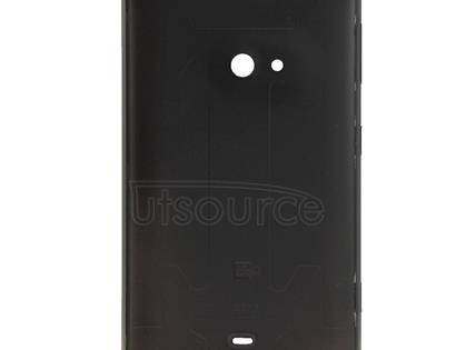for Nokia Lumia 625 Original Housing Battery Back Cover with Side Button(Black)