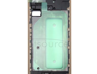 Galaxy J730 Front Housing LCD Frame Bezel Plate(Gold)
