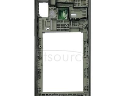 Middle Frame Bezel Plate for Galaxy J1 (2016) / Express 3 / Galaxy Amp 2 / J120F / J120A / J120H / J120M / J120M / J120T(Silver)