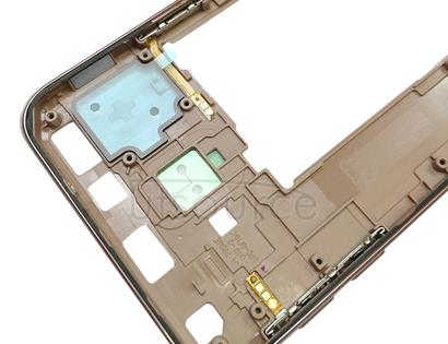 Middle Frame Bezel for Galaxy J4 Core / J410F / J410G (Gold)