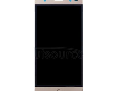 For ZTE Blade V7 Lite LCD Screen and Digitizer Full Assembly(Gold)