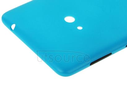 Original Housing Battery Back Cover with Side Button for Nokia Lumia 625 (Blue)