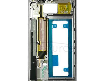 Middle Frame Bezel Plate for Galaxy Note FE, N935, N935F/DS, N935S, N935K, N935L(Silver)