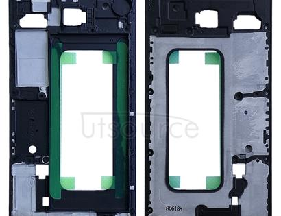 Front Housing LCD Frame Bezel Plate for Galaxy C5(Black)